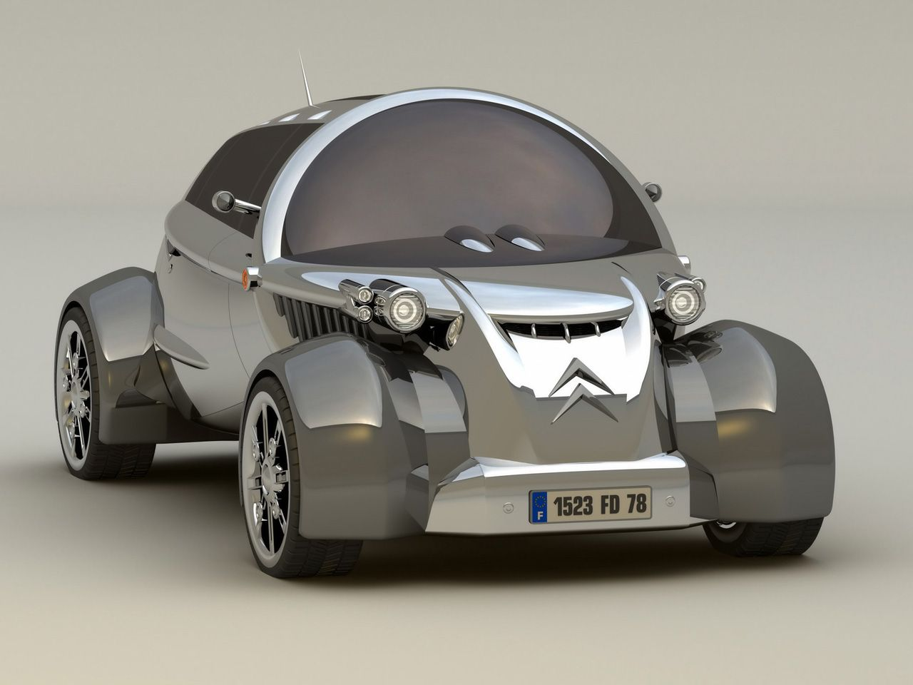 Hot Car Pictures Gallery Citroen Cv2 Concept Car Photo